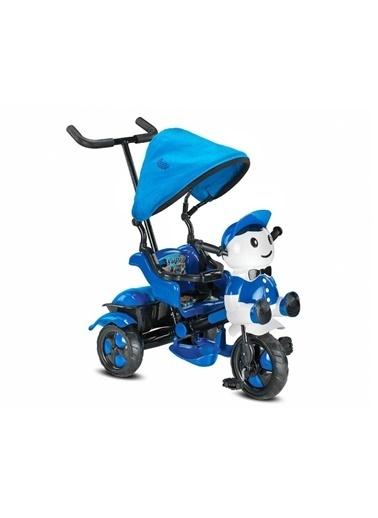 BabyHope Babyhope 125-40 Yupi Triycle Bisiklet - Mavi Beyaz Renkli